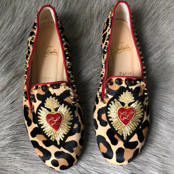 679cf8dfdb1 Christian Louboutin Shoes - Christian Louboutin Mi Corazon Flats Loafers  38.5